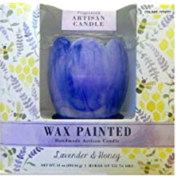 Photo of Alaura Candles Wax Painted Candle