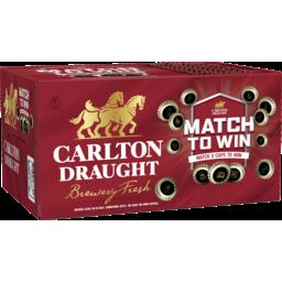 Photo of Carlton Draught Bottles