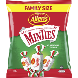 Photo of Allens Minties 370gm
