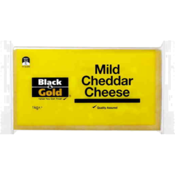 Photo of Black And Gold Cheese Cheddar Mild 1kg