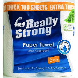 Photo of Really Strong Paper Towel 2pk