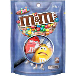 Photo of M&Ms Minis Pouch 145gm