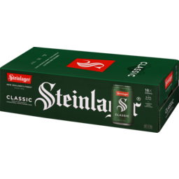 Photo of Steinlager Classic Beer Lager Can 18 X