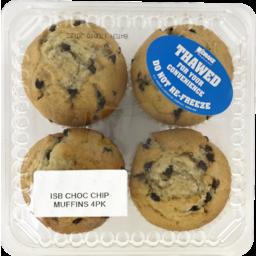Photo of Choc Chip Muffins 4 Pack