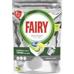Photo of Fairy Platinum All In One Lemon Automatic Dishwasher 52.0x