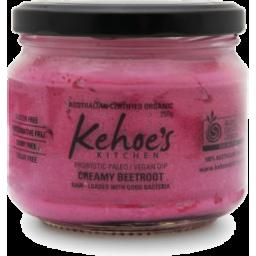 Photo of Kehoe Organic Cashew Cheese Beetroot 250g