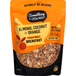 Photo of Something To Crow About Muesli Almond Spiced Orange Coconut 400 Each
