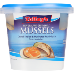 Photo of Talley's New Zealand Greenshell Mussels 375g