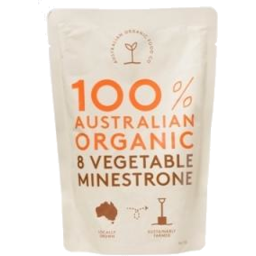 Photo of 8 Vegetable Minestrone 330g Australian Organic Food Co