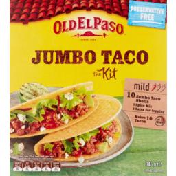 Photo of Old El Paso Jumbo Taco Kit 350g 10pk