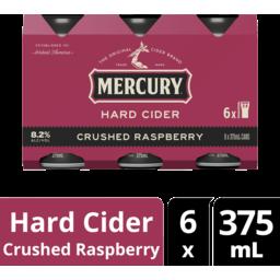 Photo of Mercury Hard Cider Raspberry Cans