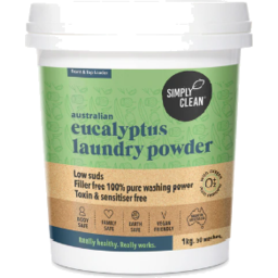 Photo of Simply Clean Laundry Powder - Eucalyptus 1kg