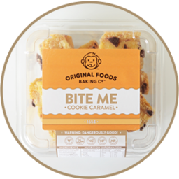 Photo of Bite Me Mini Bites Cookie Caramel  165g