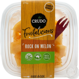 Photo of Crudo Fruitalicious Rock On Melon 275g