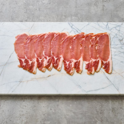 Photo of peter bouchier streaky dry cured bacon