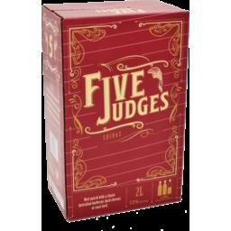 Photo of Five Judges Shiraz Cask 2l 2l