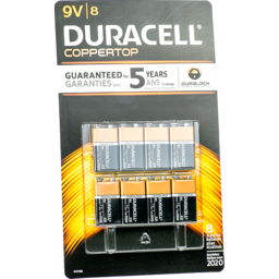 Photo of Duracell Batteries 9v