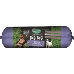 Photo of Nature's Gift Puppy Deli Roll With Lamb, Carrots & Peas 200g