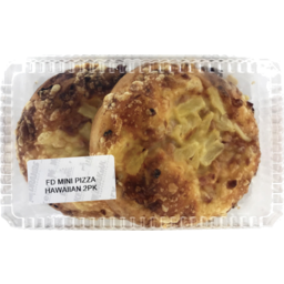 Photo of Mini Hawaiian Pizza 2 Pack