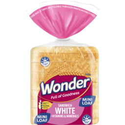 Photo of Wonder White Wonder High Fibre White Sliced Bread Sandwich 320g