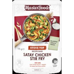 Photo of Masterfoods™ Satay Chicken Stir Fry Recipe Base 175g