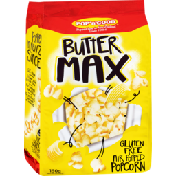 Photo of Pop 'n' Good Butter Max Popcorn 150g