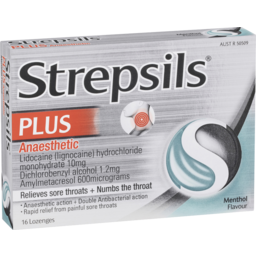 Photo of Strepsils Plus Lozenges 16