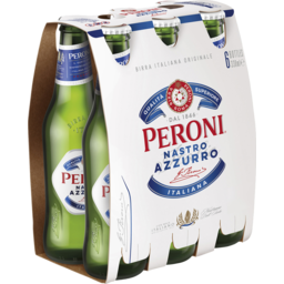 Photo of Peroni Nastro Azzurro 5.1% 6x330ml