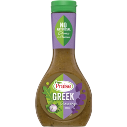 Photo of Praise Dressing Greek 330ml.