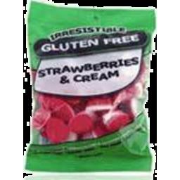 Photo of Irresistible Strawberries & Cream 160gm