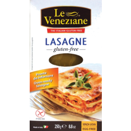 Photo of Le Veneziane Gluten Free Lasagne 500g