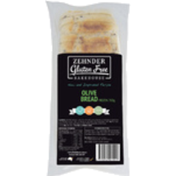 Photo of Zehnder Bread Gluten Free Olive 700gm