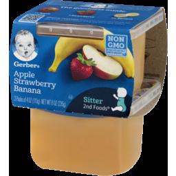 Photo of Gerber Apple Strawberry Banana 2nd Foods