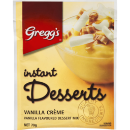 Photo of Gregg's Instant Dessert Vanilla 70g