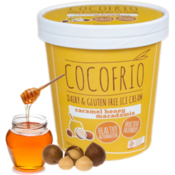 Photo of Coco Frio Dairy Free Ice Cream Caramel Honey Macadamia 500ml