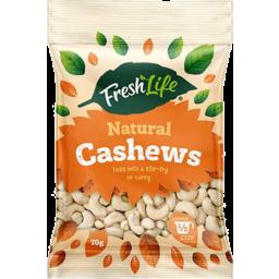 Photo of Fresh Life Cashews Natural 70g