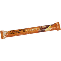 Photo of Lindt Lindor Milk Orange Bar 38g