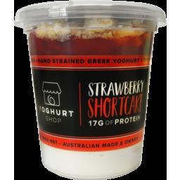 Photo of Tys Strawberry Shortcake Yoghurt 190g