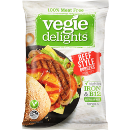 Photo of Vegie Delights 100% Meat Free Beef Style Burgers 300g