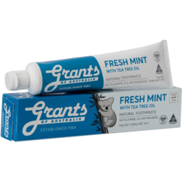 Photo of Grants Toothpaste - Fresh Mint 110g