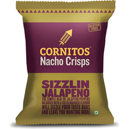 Photo of Cornitos Nacho Crisps Sizzlin Jalapeno 150g