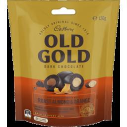 Photo of Cad Old Gold Almd Orange Bites 120gm