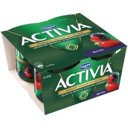 Photo of Activia Berries 4 X 125gm