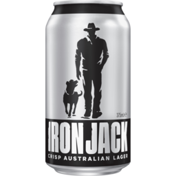 Photo of Iron Jack Crisp Australian Lager Can