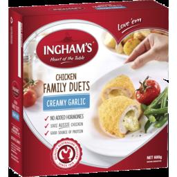 Photo of Ingham Family Duets Creamy Garlic 600gm