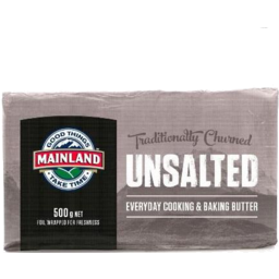 Photo of Mainland Butter Unsalted 500g