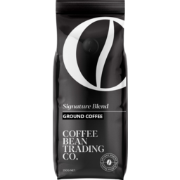 Photo of Coffee Bean Trading Co Signature Blend Ground Coffee 250g