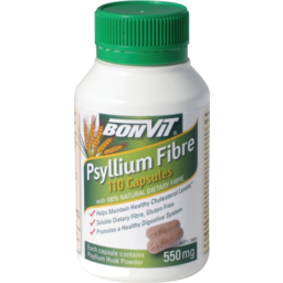 Photo of Bonvit Psyllium Caps 550mg 160g