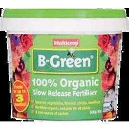 Photo of B-Green Fert 100% Org S-R 600g