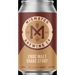 Photo of Mismatch Brew Choc Malt Shake Stout Can